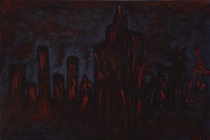 Bloody skyline
